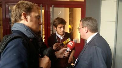 Alain Avello interviewé à l'issue de la Convention présidentielle du 22 septembre