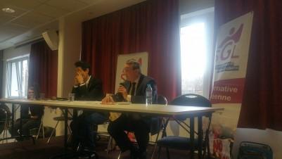 Alain Avello représente Marine Le Pen  au Forum de l'Alternative éducative