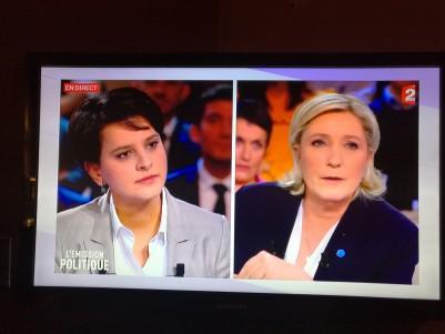 Débat Marine Le Pen - Najat Vallaud-Belkacem
